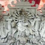 কুমিল্লায় ব্যস্ত সময় পার করছেন প্রতিমা কারিগররা,শেষ মুহুর্তে চলছে রং তুলির কাজ