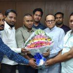 মুরাদনগর প্রেস ক্লাবের সাংবাদিকদের সাথে ইউসুফ আবদুল্লাহ হারুন এমপি'র মতবিনিময় সভা অনুষ্ঠিত