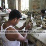 কুমিল্লার বিজয়পুরের ঐতিহ্যবাহী মৃৎশিল্পীদের সংকট ও সম্ভাবনা