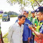ঢাকা-চট্টগ্রাম মহাসড়কে ৪ সেকেন্ডে মদ্যপ চালক শনাক্ত