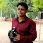 সাংবাদিক অমিত মজুমদার সড়ক দুর্ঘটনায় আহত