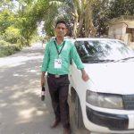 কুমিল্লায় মোটর বাইক দুর্ঘটনায় সাংবাদিক মহিউদ্দিন আহত