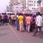 কুমিল্লায় সড়ক আইনের বিরুদ্ধে আন্দোলন, সড়ক অবরোধ