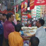 চৌদ্দগ্রামে লবণ বাজারে সাড়াশি অভিযান , আধা ঘন্টায় বাজার নিয়ন্ত্রণ