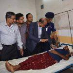 ট্রেন দুর্ঘটনায় আহতদের দেখতে কুমিল্লায় রেলমন্ত্রী