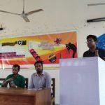 কুবিতে স্বল্পদৈর্ঘ্য চলচ্চিত্র নির্মাণ প্রতিযোগিতার প্রচারণা