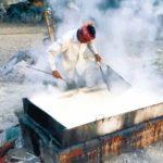 কুমিল্লার বিবিরবাজার এলাকা এখন ব্যস্ত নির্ভেজাল আখের গুড় তৈরিতে