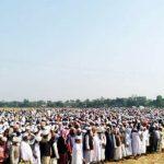 কুমিল্লার সন্তান আল্লামা আশরাফ আলীর জানাযা নামাজে আল্লামা শফি,ধর্ম মন্ত্রীসহ হাজারো মানুষের ঢল