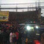 কুমিল্লা নগরীর রূপায়ণ টাওয়ারের নিমার্ণাধীন ছাদ ধ্বসে পড়েছে, উদ্ধার কাজ চলছে
