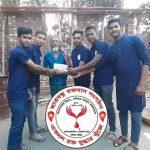 কুমিল্লায় অগ্নিকান্ডে ক্ষতিগ্রস্তদের সাহাযার্থে ছাত্রবন্ধু রক্তদান সংগঠন