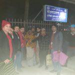 কুৃমিল্লায় বাংলাদেশ মানবাধিকার কমিশনের উদ্যোগে শীতার্তদের মাঝে কম্বল বিতরণ