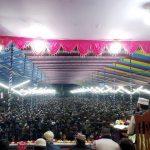 আজহারীর বয়ান শুনতে শৈত্যপ্রবাহকে উপেক্ষা করে শরীয়তপুরে লাখো মানুষের ঢল