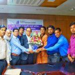 সংসদ সদস্য ইউসুফ আবদুল্লাহ হারুন এর সাথে 'বাঙ্গরাবাজার প্রেসক্লাব' নেতৃবৃন্দের মতবিনিময়