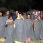 মুরাদনগরে শীতার্ত বেদে সম্প্রদায়ের মাঝে কম্বল বিতরণ করলেন ইউএনও