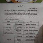 কুবি শিক্ষক সমিতি নির্বাচন, নীল দলের প্যানেল ঘোষণা