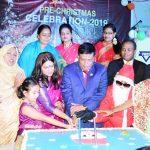 কুমিল্লা ওয়াই.ডব্লিও.সি.এ স্কুলে প্রাক বড়দিন কেক কেঁটে উদযাপন