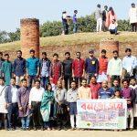 """কুমিল্লার শালবন বিহারে""""বই পোকা""""র বনভোজন"""