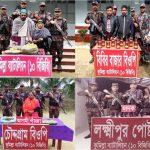 কুমিল্লায় বিজিবির পৃথক অভিযানে ৫ আসামীসহ মাদকদ্রব্য ও অন্যান্য মালামাল আটক