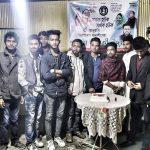 কুমিল্লা মহানগর পূর্বাঞ্চল ছাত্রলীগের উদ্যোগে কেক কেটে প্রতিষ্ঠাবার্ষিকী উদযাপন
