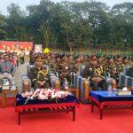 কুমিল্লা সেনানিবাসে ক্ষণগণনা অনুষ্ঠান উদ্বোধন
