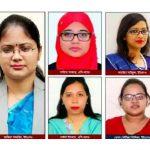 কুমিল্লায় পুরুষের সঙ্গে সমানতালে কাজ করছেন ২২ জন নারী কর্মকর্তা