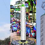 কুমিল্লায় নজর কাড়ছে আল্লাহর ৯৯ নাম খচিত দৃষ্টিনন্দন 'আল্লাহু চত্বর'