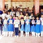 কুমিল্লায় বর্ডার গার্ড পাবলিক স্কুল ও বর্ডার গার্ড সরকারি প্রাথমিক বিদ্যালয়ে পাঠ্যপুস্তক বিতরণ