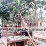দেশের দ্বিতীয় যুদ্ধাহত মুক্তিযোদ্ধার ভাস্কর্য নির্মাণ হচ্ছে কুমিল্লায়