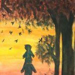 বিখ্যাত চিত্রশিল্পী হতে চান কুমিল্লার তামান্না নুসরাত সিলভিয়া