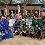 মাতৃভাষা দিবস ও শহীদ দিবসে গজারিয়া একতা ক্লাবের উদ্যোগে চিত্রাঙ্কন প্রতিযোগিতা
