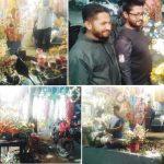 বসন্ত-ভালোবাসা দিবস: কুমিল্লায় ফুলের বাজারে আগুন