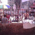 আজকের কুমিল্লায় সংবাদ প্রকাশের পর টাউনহলের দেয়ালের সংস্কার