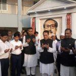 দাউদকান্দি উপজেলা পরিষদ চত্বরে বঙ্গবন্ধুর 'ম্যুরাল' স্থাপন