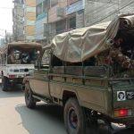 কুমিল্লা জেলাজুড়ে টহল দিচ্ছে সেনাবাহিনী