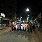 করোনা থেকে মুক্তির জন্য কুমিল্লা নগরীতে দোয়ার মিছিল