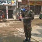 করোনা প্রতিরোধে সচেতনতা সৃষ্টিতে কুমিল্লা জেলাজুড়ে কাজ করছে সেনাবাহিনী