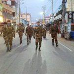 কুমিল্লায় লকডাউন নিশ্চিতে সেনাবাহিনীর টহল জোরদার