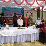 কুমিল্লার লালমাইয়ে কর্মহীন আনসার বাহিনীর ৩ শত সদস্যের মাঝে খাদ্য বিতরণ