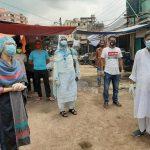 কুমিল্লা নগরীর রাজগঞ্জ বাজার ৩ দিন লকডাউন থাকবে