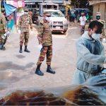 ব্রাহ্মণপাড়ায় করোনা সংক্রমণ রোধে তৎপর উপজেলা প্রশাসন ও সেনাবাহিনী