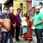 কুমিল্লার বিভিন্ন স্থানে সহপাঠী ২০০০ এর উদ্যোগে ঈদ সামগ্রী বিতরণ