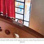 করোনা আক্রান্ত ইউএনও, মাকে দেখার জন্য জানালা দিয়ে উঁকি দিচ্ছে শিশু সন্তান