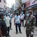 কুমিল্লা শহরের ৪টি ওয়ার্ডে সেনাবাহিনীর কঠোর নজরদারি
