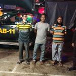 কুমিল্লা সদরে গণপরিবহনে চাঁদাবাজির সময়ে চাঁদাবাজ চক্রের ৩ জন সক্রিয় সদস্য আটক