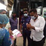 কুমিল্লা মহানগরীতে স্বাস্থ্যবিধি অমান্য করার অপরাধে জরিমানা