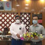 কুমিল্লায় নতুন অতিরিক্ত জেলা ম্যাজিস্ট্রেটের যোগদান