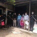 নিষিদ্ধ পলিথিন উৎপাদন: কুমিল্লা সদরে মিয়ামি প্লাস্টিক কারখানায় অভিযান