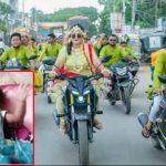 'নববধূ' নয় বাইকার ফারহানা আফরোজ, রয়েছে দেড় মাসের ছেলে সন্তানও