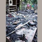 কুমিল্লার মুরাদনগরে ভয়াবহ অগ্নিকান্ডে বসত ঘর পুড়ে ছাই