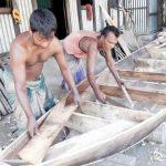 কুমিল্লার চাঁপাতলী গ্রামটি পরিচিতি পেয়েছে 'নৌকাগ্রাম' হিসেবে